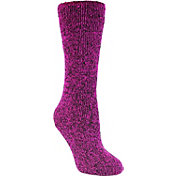 Field &Stream Women's Marled Brushed Heat Crew Socks