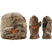 Field & Stream Youth Hunting Skull Beanie and Glove Combo