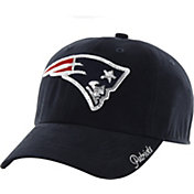 '47 Women's New England Patriots Sparkle Logo Navy Adjustable Hat