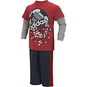 adidas Infant Boys' Game Shattering Shirt and Pants Set
