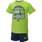 adidas Infant Boys' Make It Happen Short Set