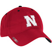 adidas Men's Nebraska Cornhuskers Red Sideline Coaches Adjustable Slouch Hat