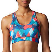 adidas Women's techfit Molded Cup Printed Sports Bra