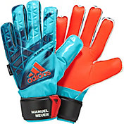 adidas Youth Ace Fingersave Junior Manuel Neuer Soccer Goalkeeper Gloves