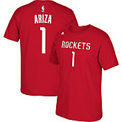 adidas Youth Houston Rockets Trevor Ariza #1 Red T-Shirt