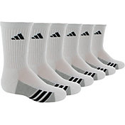 adidas Kids' Athletic Crew Socks 6 Pack