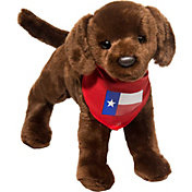 Douglas Texas Chocolate Lab Stuffed Animal