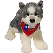 Douglas Texas Husky Stuffed Animal