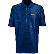 Antigua Men's Akron Zips Navy Illusion Performance Polo