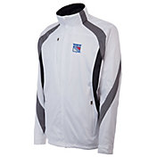 Antigua Men's New York Rangers Tempest White Full-Zip Jacket