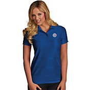 Antigua Women's Toronto Blue Jays Illusion Royal Striped Performance Polo