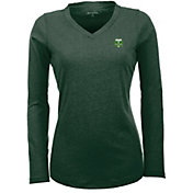 Antigua Women's Portland Timbers Flip Hunter Green Shirt