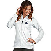 Antigua Women's Penn State Nittany Lions White Performance Golf Jacket