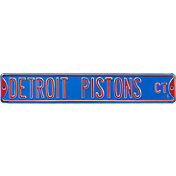 Authentic Street Signs Detroit Pistons Court Sign