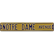 Authentic Street Signs Notre Dame 'Fighting Irish Ave' Gold  Sign