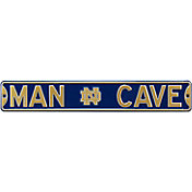 Authentic Street Signs Notre Dame Fighting Irish 'Man Cave' Street Sign
