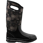 BOGS Women's Classic Watercolor Tall Insulated Rain Boots