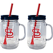 Boelter St. Louis Cardinals 20oz Handled Straw Tumbler 2-Pack
