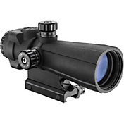 Barska AR-X Pro 5x40 Cross-Dot Reticle Prism Scope – Black