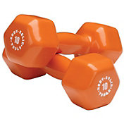 Body Solid 10 lb Vinyl Dumbbells
