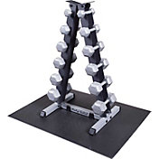 Body Solid GDR44 Dumbbell Rack and Set