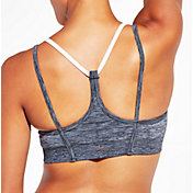 CALIA by Carrie Underwood Women's Inner Power V-Back Strap Seamless Heather Sports Bra