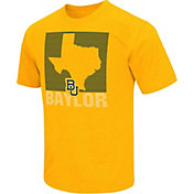 Colosseum Athletics Men's Baylor Bears Gold State of the Union T-Shirt