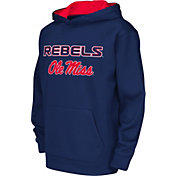 Colosseum Athletics Youth Ole Miss Rebels Blue Performance Hoodie