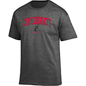 Champion Men's Cincinnati Bearcats Grey T-Shirt