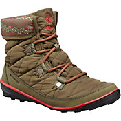 Columbia Women's Heavenly Shorty Print Omni-Heat 200g Waterproof Winter Boots