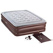 Coleman Double High QuickBed Queen Air Mattress with Electric Pump