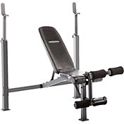 Competitor Olympic Weight Bench with Leg Attachment