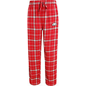 Concepts Sport Men's Arkansas Razorbacks Cardinal/Grey Ultimate Plaid Sleep Pants