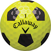 Callaway Chrome Soft X Truvis Yellow Golf Balls - Prior Generation