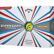 Callaway 2017 Supersoft Yellow Golf Balls