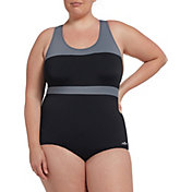 Dolfin Women's Conservative Color-Block Swimsuit