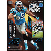 Fathead Carolina Panthers Luke Kuechly Teammate Player Wall Decal