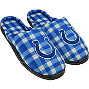 Forever Collectibles Indianapolis Colts Flannel Cup Sole Slippers
