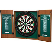 Franklin Bristle Dartboard and Cabinet
