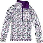 Garb Girls' Avalon Half-Zip Golf Jacket