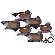 Hard Core Pre-Rigged Wigeon Floating Decoys – 6 Pack