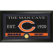 The Highland Mint Chicago Bears 'The Man Cave' Framed Bronze Coin Photo Mint