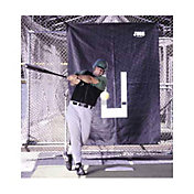 Jugs Batting Cage Backdrop & Pitcher's Trainer