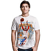 Levelwear Men's New York Knicks Carmelo Anthony Center Court White T-Shirt