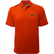 Levelwear Men's Oklahoma State Cowboys Orange Helium Polo