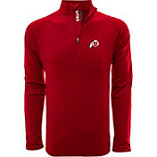 Levelwear Men's Texas Tech Red Raiders Red Metro Quarter-Zip Pullover