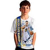 Levelwear Youth Golden State Warriors Steph Curry Breakaway White T-Shirt