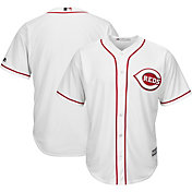 Majestic Boys' Replica Cincinnati Reds Cool Base Home White Jersey