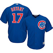 Majestic Men's Replica Chicago Cubs Kris Bryant #17 Cool Base Alternate Royal Jersey