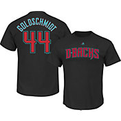 Majestic Men's Arizona Diamondbacks Paul Goldschmidt #44 Black T-Shirt